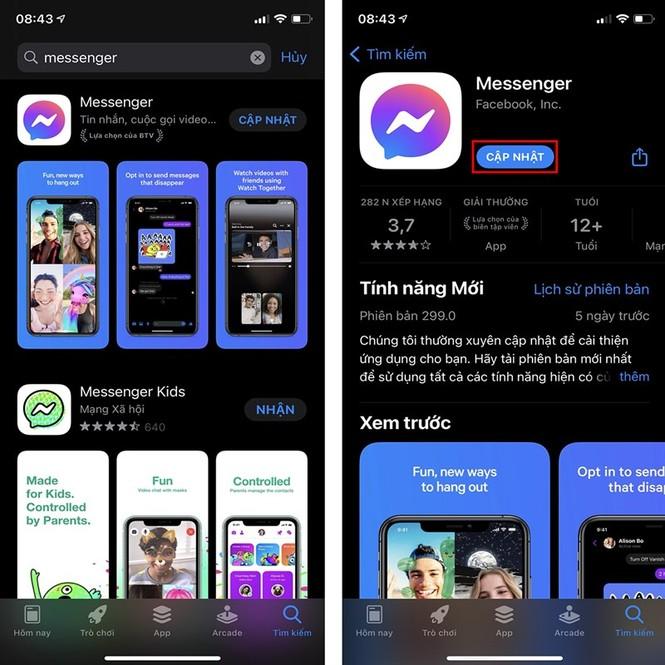 Cập nhật tính năng mới trên Facebook Messenger: Người dùng nhận tin nhắn trở nên an toàn hơn - ảnh 1