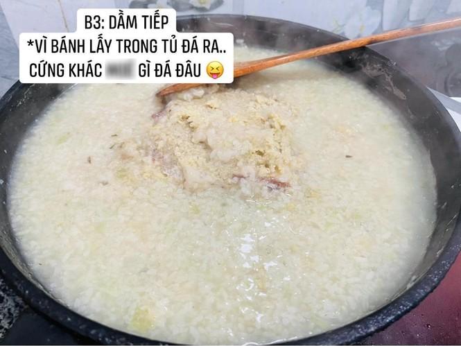 Cô gái làm món bánh chưng chiên nước lọc giống trên mạng, nhìn thành quả ai cũng bàng hoàng - ảnh 3