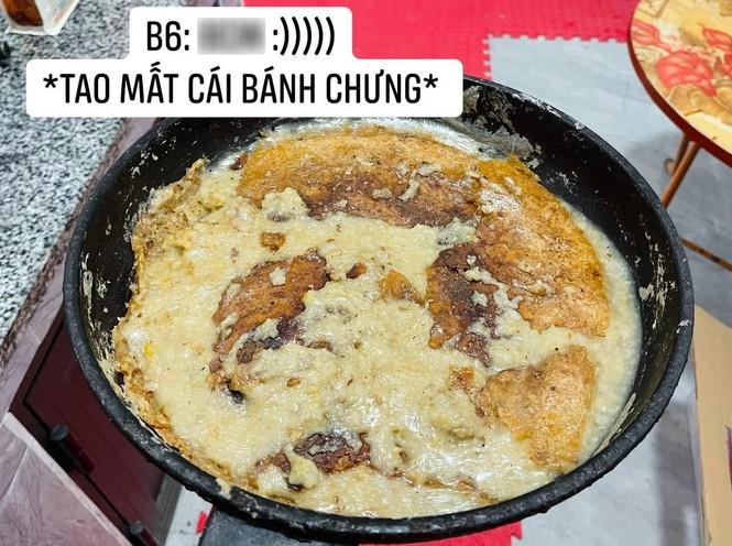 Cô gái làm món bánh chưng chiên nước lọc giống trên mạng, nhìn thành quả ai cũng bàng hoàng - ảnh 6