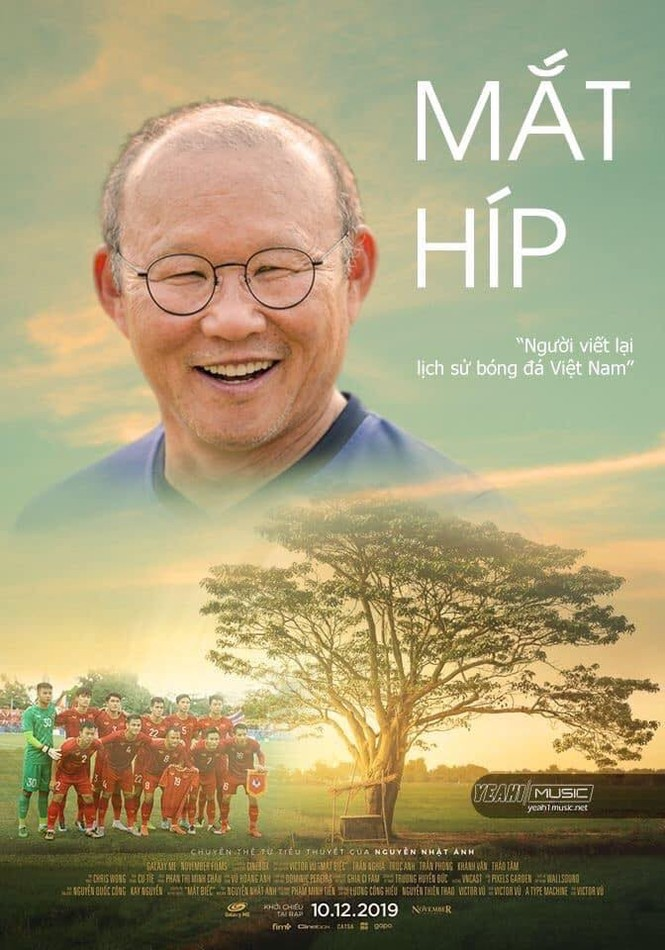 """Park Hang Seo, Như Quỳnh, Thái Phiên… đu theo """"Mắt biếc""""  - ảnh 1"""