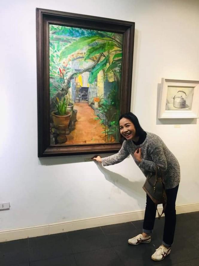 Nhà văn Trần Thị Trường lập kỷ lục bán tranh - ảnh 2