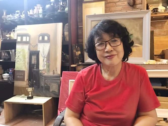 Nhà văn Trần Thị Trường lập kỷ lục bán tranh - ảnh 6