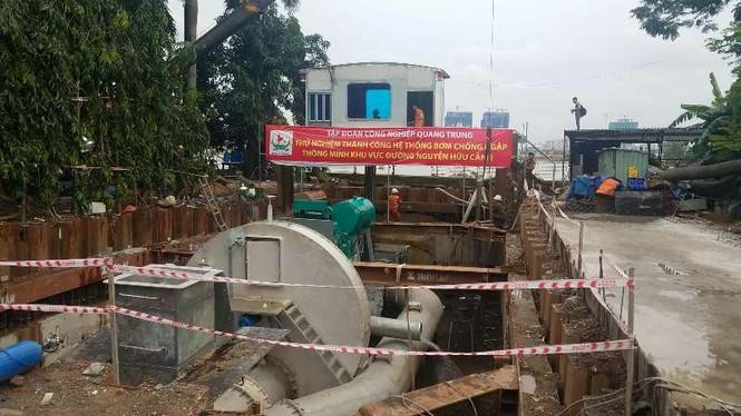 Đề xuất chống ngập sân bay Tân Sơn Nhất bằng máy bơm 'siêu khủng' - ảnh 1