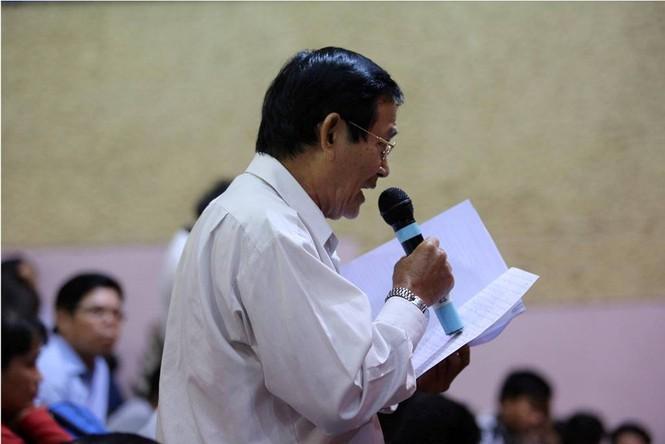 Toàn cảnh buổi tiếp xúc cử tri quận 2 'nóng' với vấn đề Thủ Thiêm - ảnh 6
