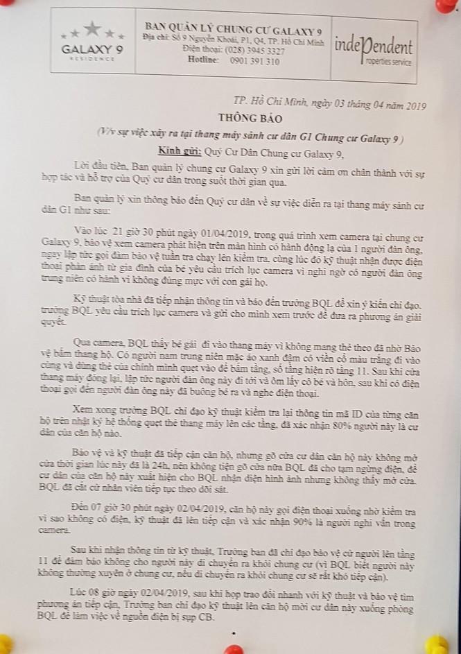 Cựu Viện phó VKS Đà Nẵng thừa nhận ôm hôn bé gái trong thang máy - ảnh 3