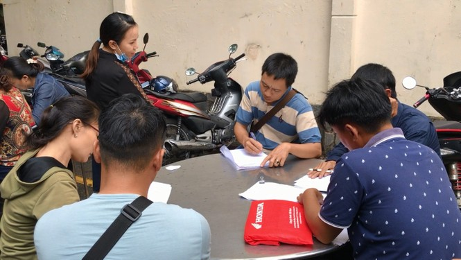 Sau 3 ngày, gần 1.000 khách hàng tới công an tố cáo công ty Alibaba lừa đảo - ảnh 1