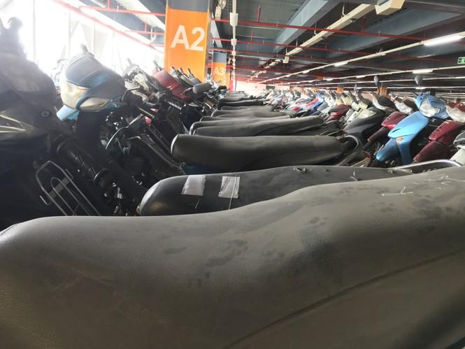 Hàng trăm xe máy 'nằm vạ' nhiều năm ở sân bay Tân Sơn Nhất - ảnh 3