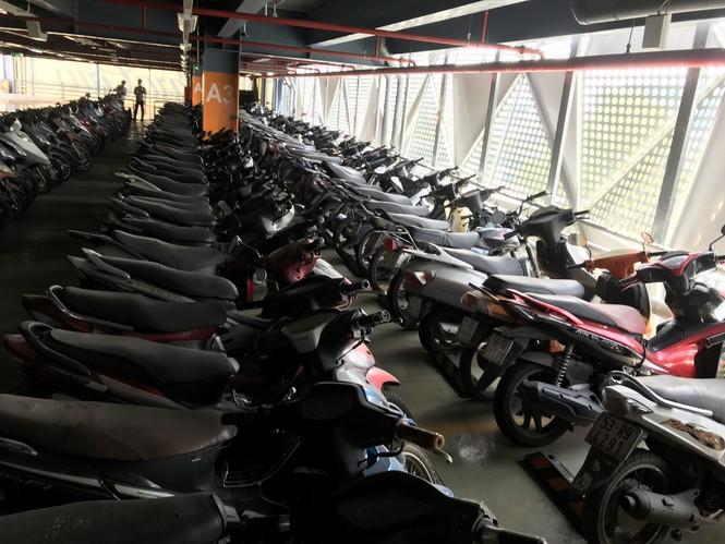 Hàng trăm xe máy 'nằm vạ' nhiều năm ở sân bay Tân Sơn Nhất - ảnh 1