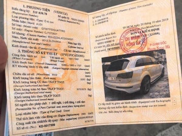 Hai xe sang Audi Q7 trùng biển số ở Đồng Nai: Công an nhập cuộc - ảnh 2