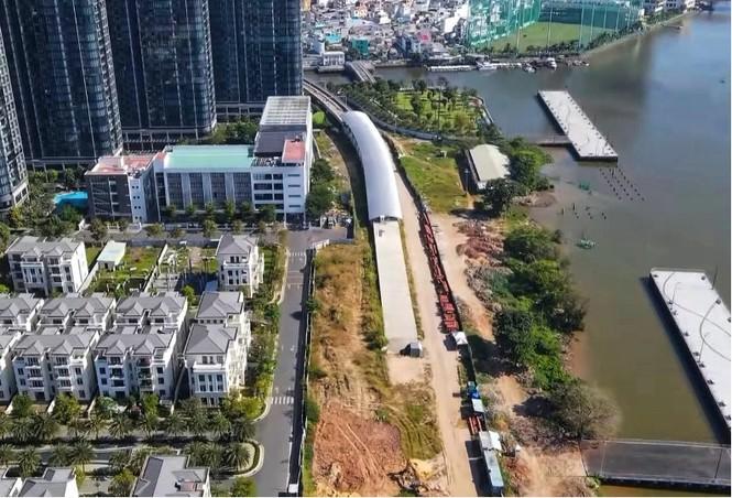 Công nhân chạy đua để hoàn thành nhà ga Ba Son - ảnh 6