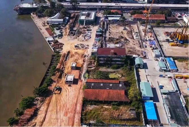 Công nhân chạy đua để hoàn thành nhà ga Ba Son - ảnh 9