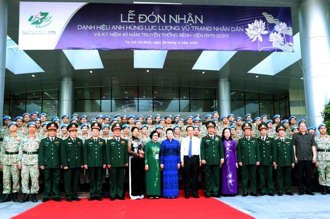 Bệnh viện Quân y 175 nhận danh hiệu Anh hùng lực lượng vũ trang nhân dân - ảnh 1