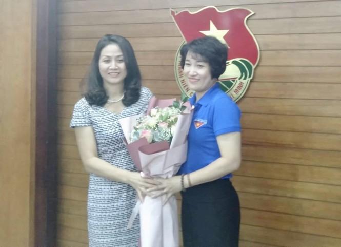 Chị Lê Hồng Hạnh làm Chủ tịch Công đoàn cơ quan T.Ư Đoàn - ảnh 1