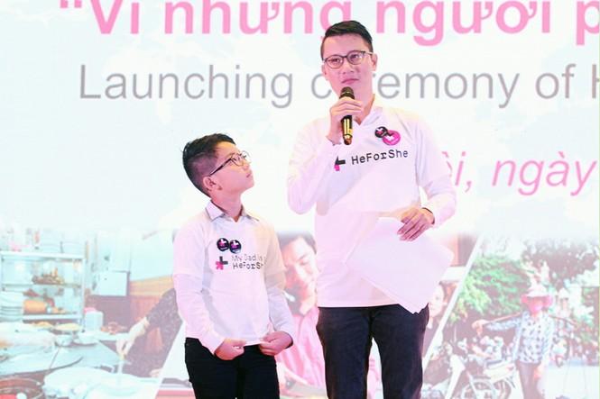 Cha con Hoàng Bách và loạt sao Việt kêu gọi bình đẳng giới - ảnh 1