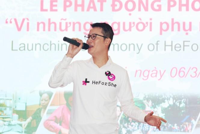 Cha con Hoàng Bách và loạt sao Việt kêu gọi bình đẳng giới - ảnh 4