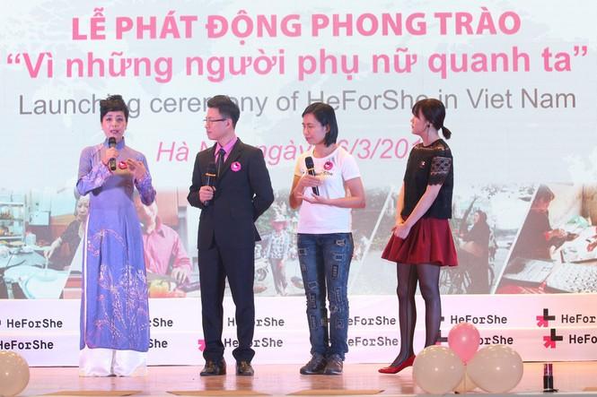 Cha con Hoàng Bách và loạt sao Việt kêu gọi bình đẳng giới - ảnh 8