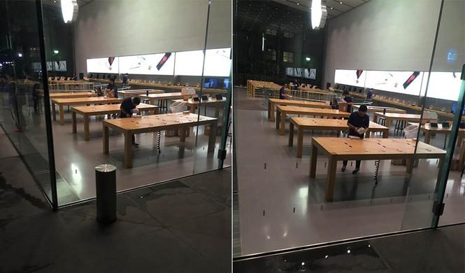 Dân Úc dầm mưa rét xếp hàng mua iPhone 6S - ảnh 9