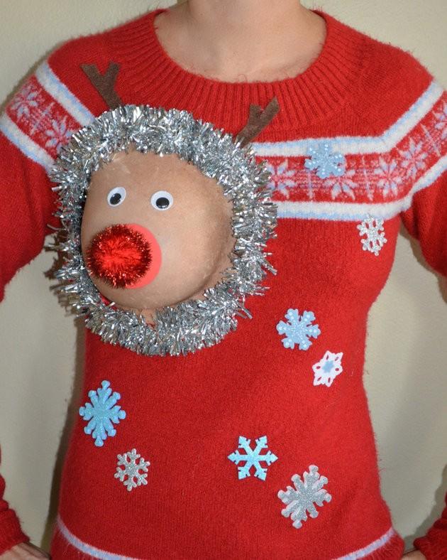 Xuất hiện áo len 'đặc chủng' cho mẹ bỉm sữa dịp Noel - ảnh 3
