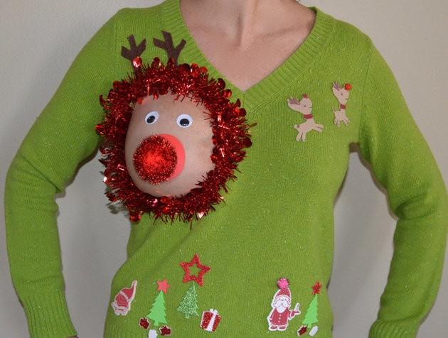 Xuất hiện áo len 'đặc chủng' cho mẹ bỉm sữa dịp Noel - ảnh 2