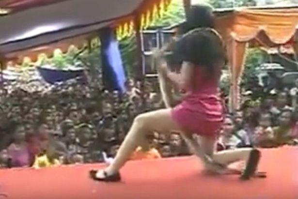 Nữ ca sĩ chết thảm vì bị hổ mang chúa cắn trên sân khấu - ảnh 1