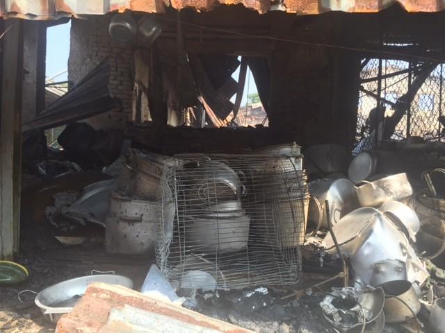 Hàng trăm tỷ hóa tro than trong vụ cháy chợ ở Hà Tĩnh - ảnh 2