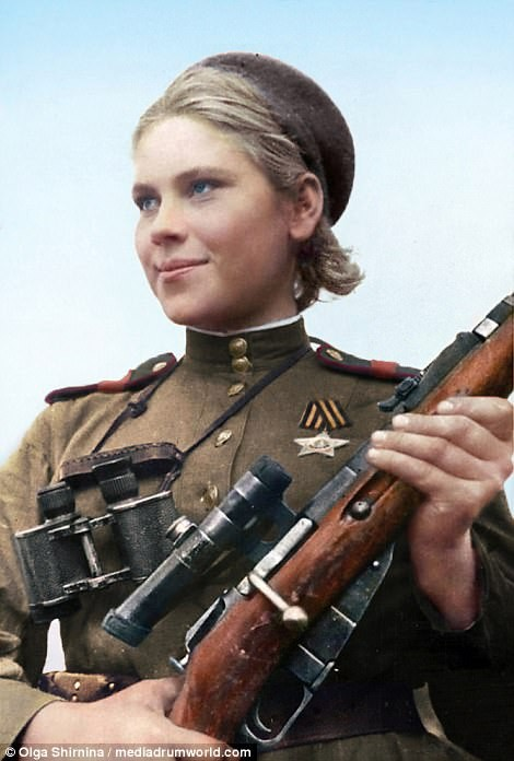 Chân dung nữ xạ thủ Nga được mệnh danh 'Quý bà chết chóc' - ảnh 8