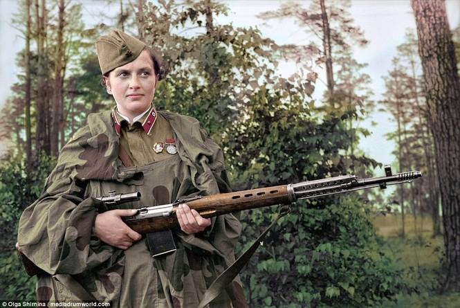 Chân dung nữ xạ thủ Nga được mệnh danh 'Quý bà chết chóc' - ảnh 5