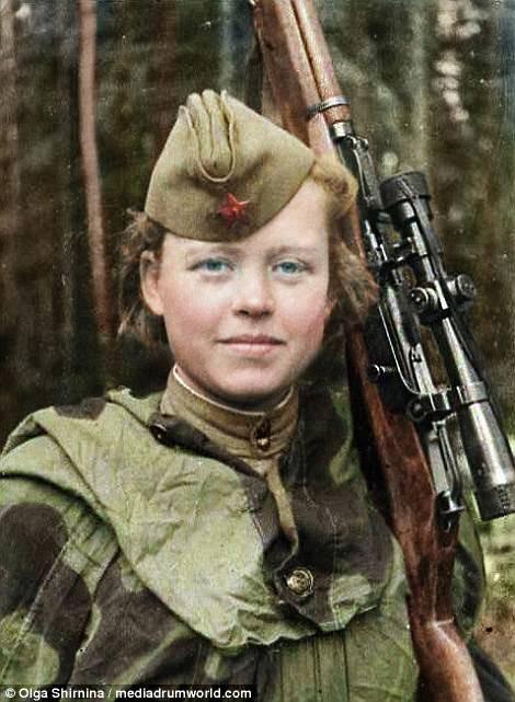 Chân dung nữ xạ thủ Nga được mệnh danh 'Quý bà chết chóc' - ảnh 12