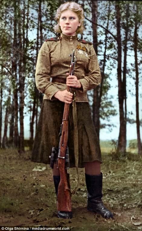 Chân dung nữ xạ thủ Nga được mệnh danh 'Quý bà chết chóc' - ảnh 10
