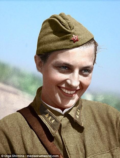 Chân dung nữ xạ thủ Nga được mệnh danh 'Quý bà chết chóc' - ảnh 4