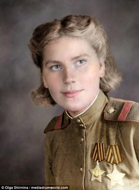 Chân dung nữ xạ thủ Nga được mệnh danh 'Quý bà chết chóc' - ảnh 9