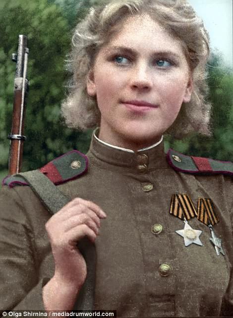 Chân dung nữ xạ thủ Nga được mệnh danh 'Quý bà chết chóc' - ảnh 7