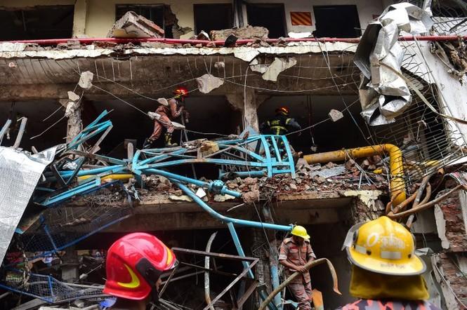 Nổ nồi hơi tại nhà máy may, ít nhất 10 người thiệt mạng - ảnh 1