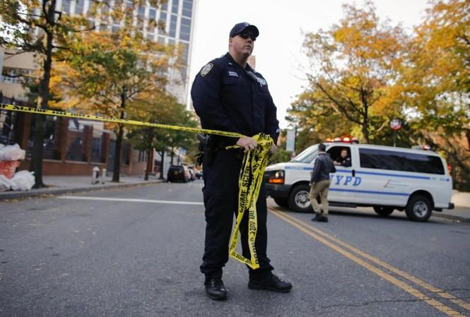 Hiện trường vụ khủng bố New York khiến 8 người thiệt mạng - ảnh 3