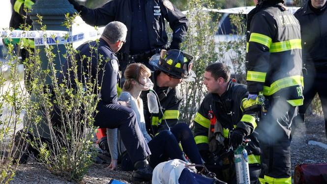 Hiện trường vụ khủng bố New York khiến 8 người thiệt mạng - ảnh 5