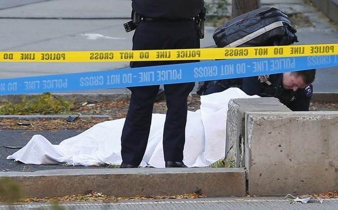 Hiện trường vụ khủng bố New York khiến 8 người thiệt mạng - ảnh 7