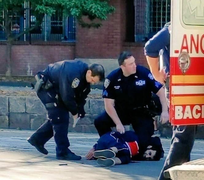 Hiện trường vụ khủng bố New York khiến 8 người thiệt mạng - ảnh 4