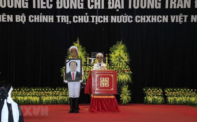 Hình ảnh xúc động tại lễ truy điệu Chủ tịch nước Trần Đại Quang - ảnh 10