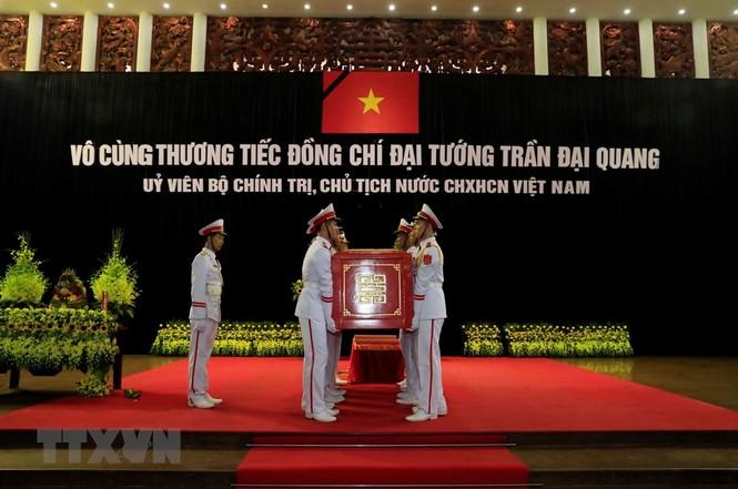 Hình ảnh xúc động tại lễ truy điệu Chủ tịch nước Trần Đại Quang - ảnh 11