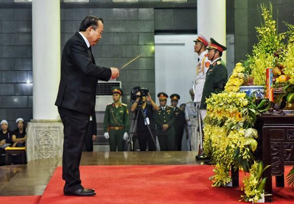 Hình ảnh xúc động tại lễ truy điệu Chủ tịch nước Trần Đại Quang - ảnh 1