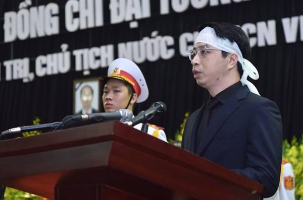 Hình ảnh xúc động tại lễ truy điệu Chủ tịch nước Trần Đại Quang - ảnh 6