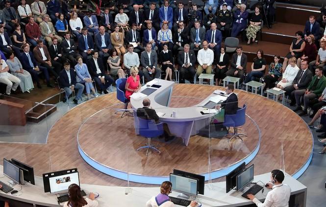 Ông Putin: Mỹ tấn công Huawei nhằm cản bước tiến của Trung Quốc - ảnh 3