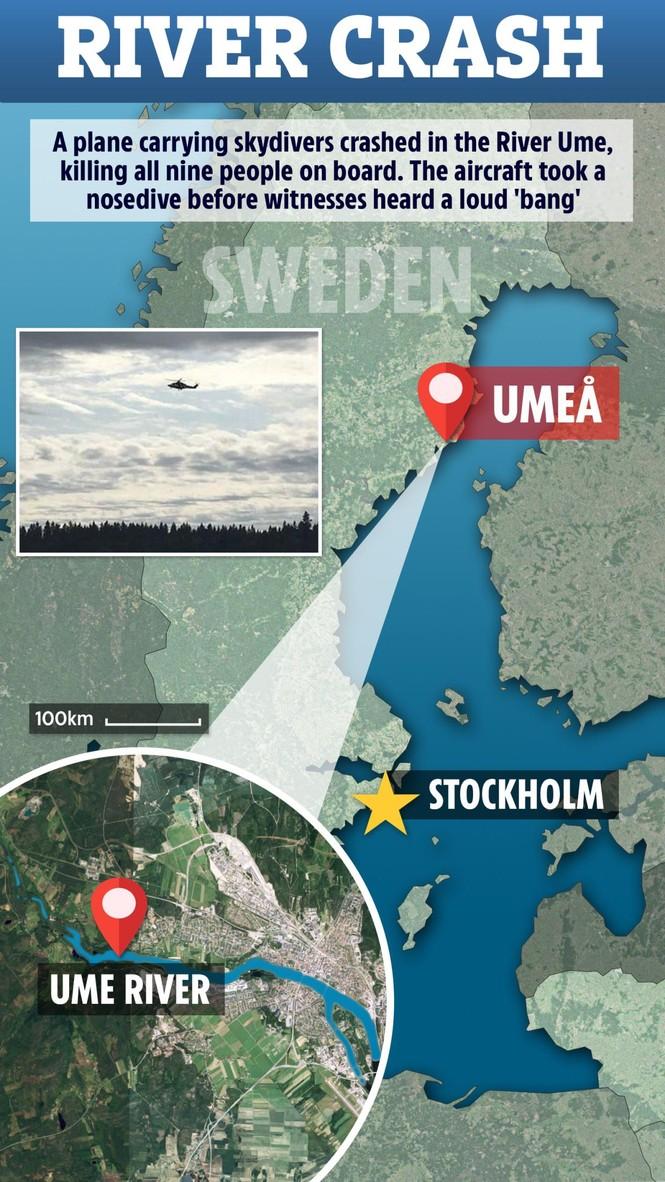 Máy bay chở đội nhảy dù rơi xuống sông, không ai sống sót - ảnh 1
