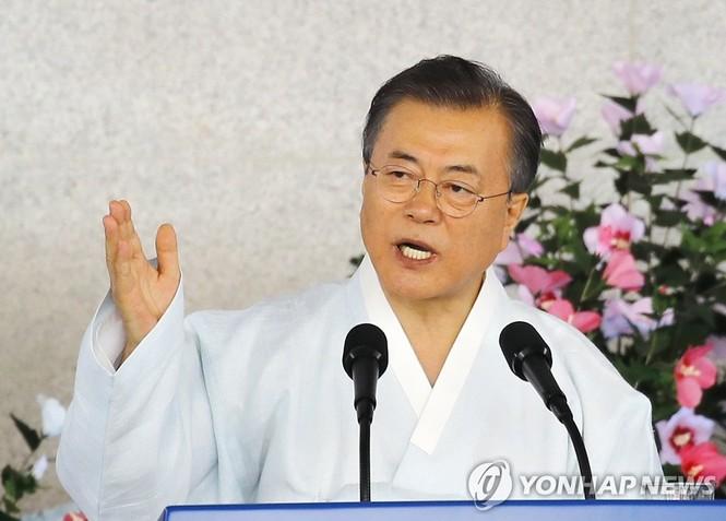 Hàn Quốc muốn thống nhất với Triều Tiên vào năm 2045 - ảnh 1