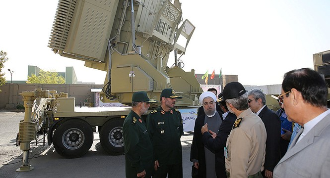 Tehran khoe uy lực 'S-300 của Iran' giữa lúc căng thẳng trên Vịnh Ba Tư - ảnh 1