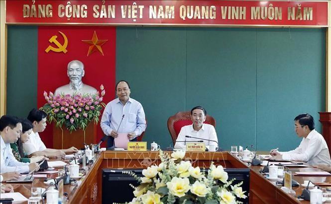Thủ tướng Nguyễn Xuân Phúc thăm và làm việc tại Thái Nguyên - ảnh 5