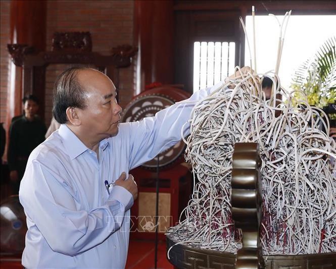 Thủ tướng Nguyễn Xuân Phúc thăm và làm việc tại Thái Nguyên - ảnh 3