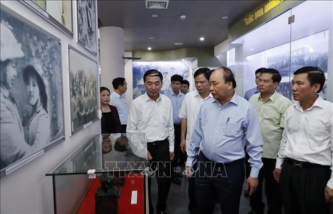 Thủ tướng Nguyễn Xuân Phúc thăm và làm việc tại Thái Nguyên - ảnh 4