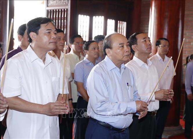 Thủ tướng Nguyễn Xuân Phúc thăm và làm việc tại Thái Nguyên - ảnh 2