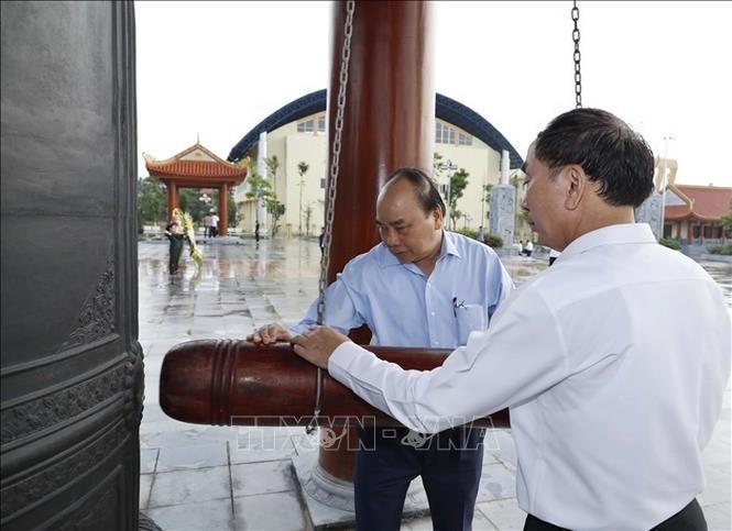 Thủ tướng Nguyễn Xuân Phúc thăm và làm việc tại Thái Nguyên - ảnh 1
